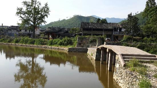 嶼北古村caption